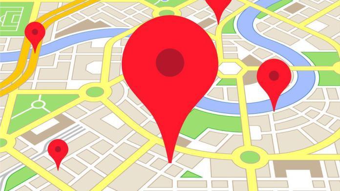 Entrar ou sair da folia com o Google Maps