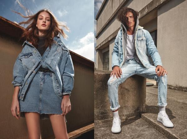 C&A _ coleção jeans dos anos 90