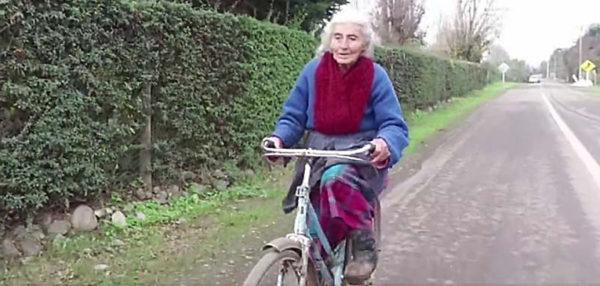 Envelhecimento  Ativo é: a vovó de bicicleta