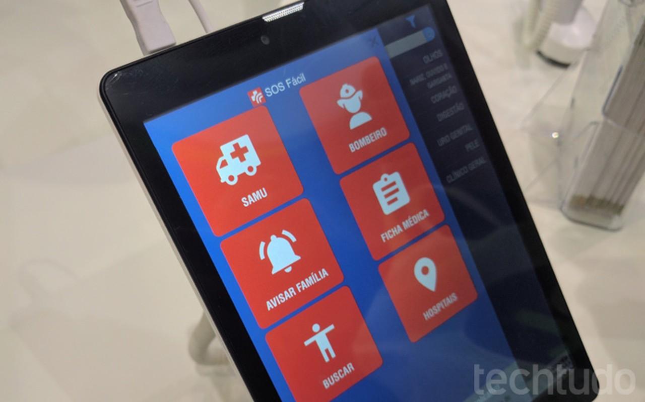 Tablet para idosos é Fácil e sai por R$  599,00