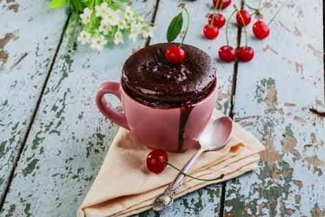 Amorela ensina fazer bolo de caneca em – de 5 min.