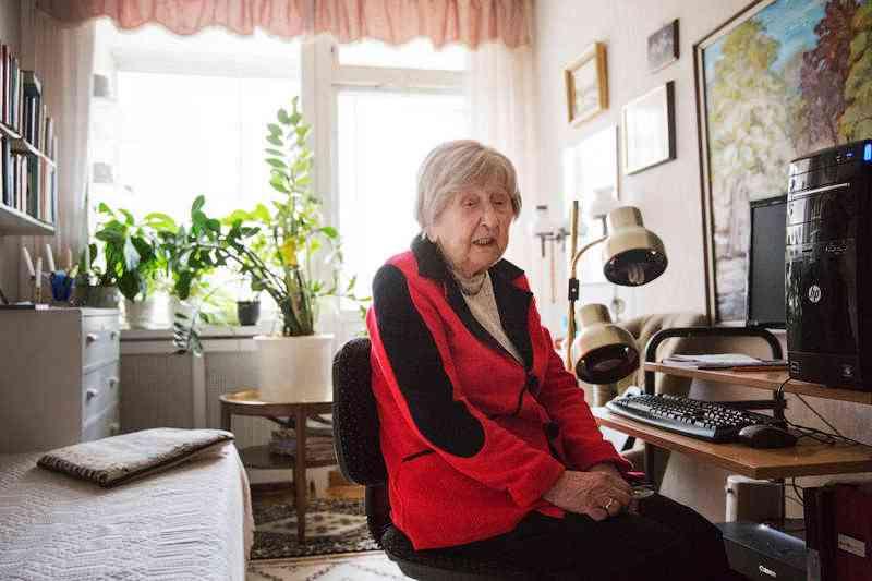 Dagny  é uma blogueira de 104 anos