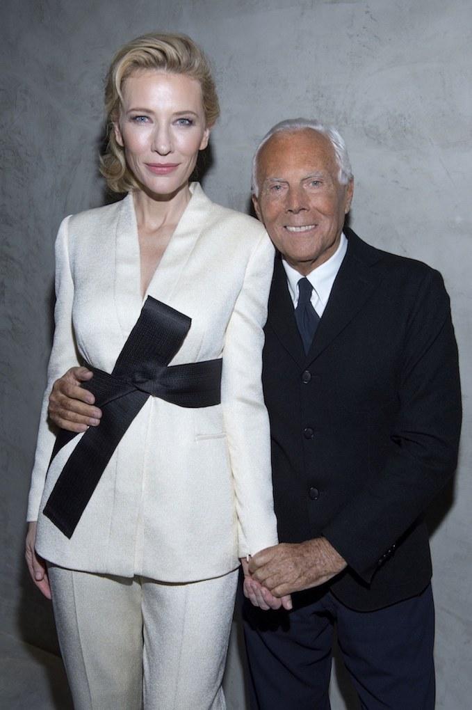 Eles envelhecem Bem _ Giorgio Armani, 83