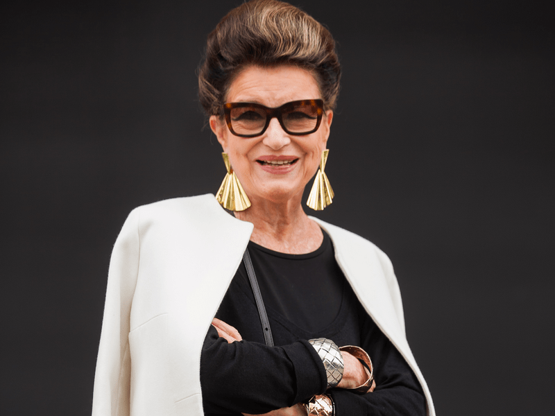 Ela Envelhece Bem, Constanza Pascolato, 80 anos
