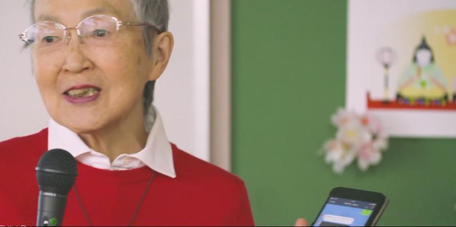 Com 81 anos, criou um game para idosos e contou sua história na ONU e na Apple